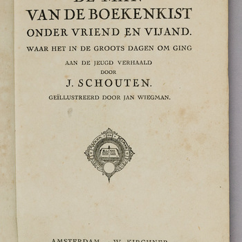De man van de boekenkist onder vriend en vijand