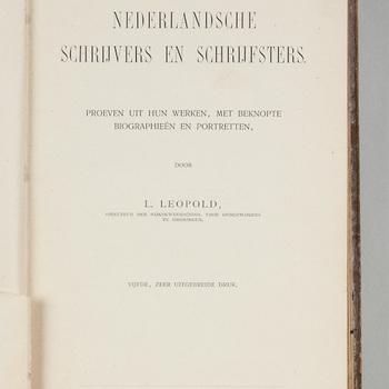 Nederlandsche schrijvers en schrijfsters