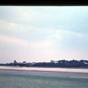 RAF Canberra op vlb Deelen, mei 1970