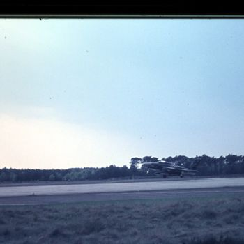 Republic Thunderflash op vlb Deelen, 1970