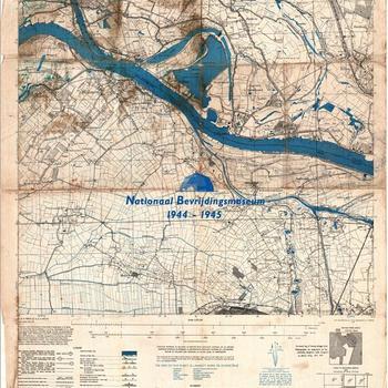 Millingen, Eastern Holland 1:25.000, Sheet 4102, AMS M831, GSGS 4414