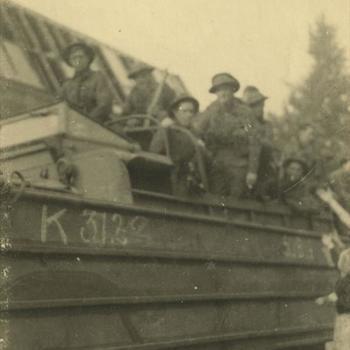 Nederlands Bevrijding; Britse militairen in Dukw