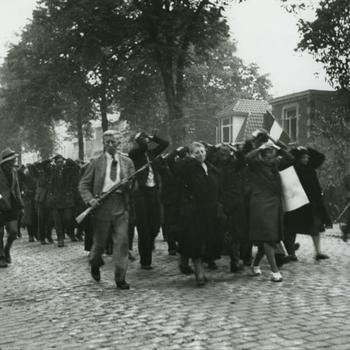 NSB-ers, duitsgezinden en krijgsgevangen, poort P.J. Biessels