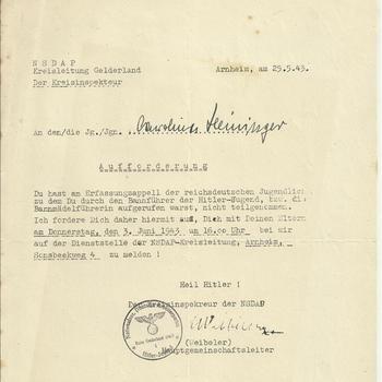 N.S.D.A.P. Kreisleitung Gelderland