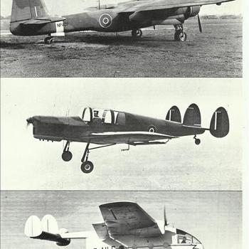 Miles M33 Monitor, Miles M38 Messenger en Miles M57 Aerovan