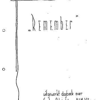 Dagboek van A.A.M. Veltman Elshout , periode september en oktober 1944