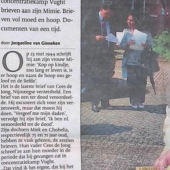 De Gelderlander, zaterdag 30 april 2011