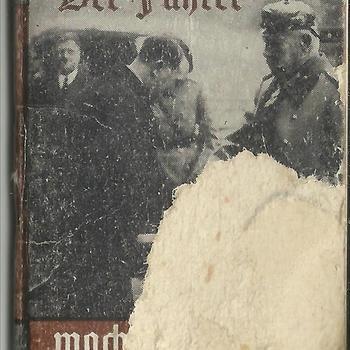 Miniatuurboekje Winterhulp. Duitsland. Der Führer macht Geschichte 1933