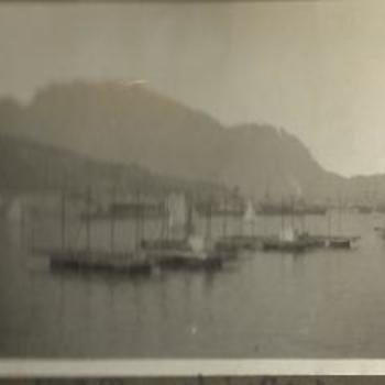 foto schepen op water, 1928,