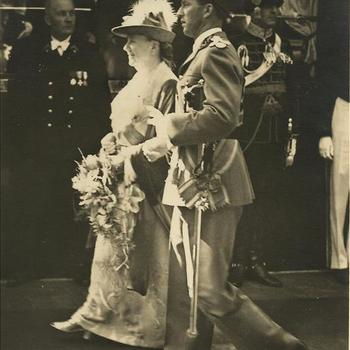 Koninklijk Huis; Koningin Wilhelmina, Koning Leopold III