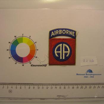 USA - schouderembleem 82nd Airborne Division