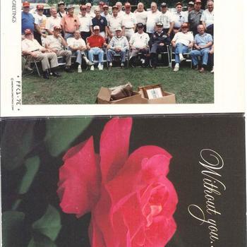 Groepsfoto 508 PIR veteranen, 82nd Airborne, 1990