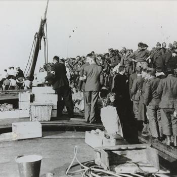 Hulpverleninging aan Belgische krijgsgevangenen te Nijmegen