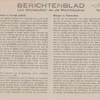 Berichtenblad vanChristofoor en Je Maintiendrai. No. 24. Maandag 11 Dec. 1944