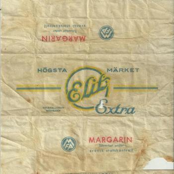 Margarine verpakking - Zweeds - voedselhulp