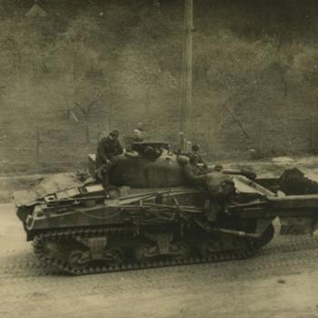 Nederlands Bevrijding; Sherman flail tank