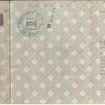 Persoonsbewijs van IJkhout, Everdina Lijsbertha