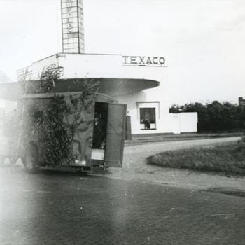Nijmegen, Graafseweg nabij Texaco benzinestation
