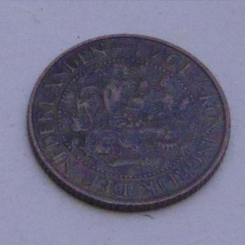 Munt, Nederland, 1 cent , 1941