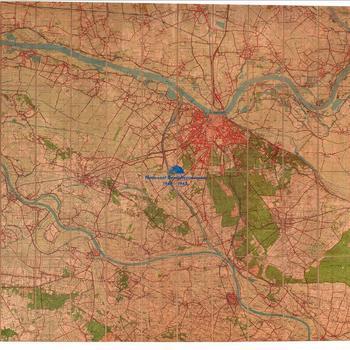 Bergharen No. 39H Bergharen ( 1954) / Grave / Doornenburg / Nijmegen.