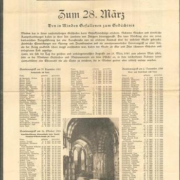 gedeelte van een krant.  De Mindener Heimatblätter, no 3. 1955