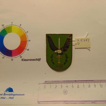 Embleem. Mouwembleem. Nederland. 8ste Infanterie Bataljon KNIL. Na-oorlogs.