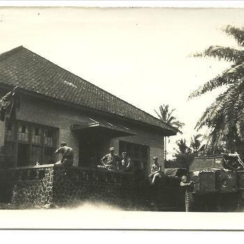'Ons Huis' Tandjoengsari 22 juli 1947, onderkomen KNIL, Nederlands Indië