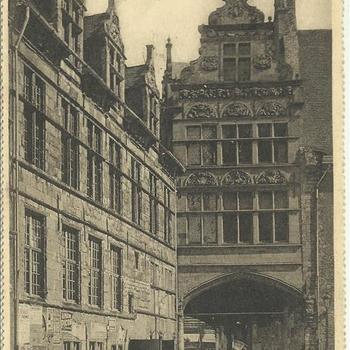 Ieper  -  Town-Hall and Conclegerie