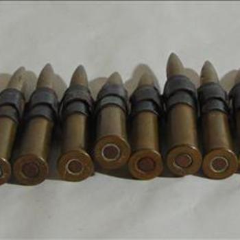 verzameling van munitie en delen van munitie