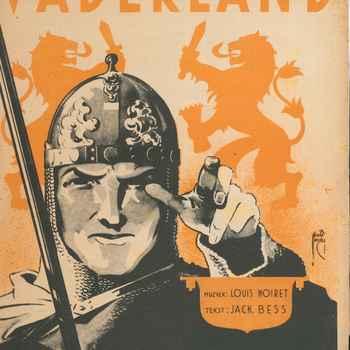 collectie Keesing, Vaderland van louis Noret en Jack Bess
