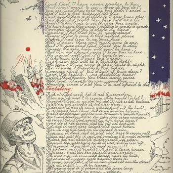 Gedicht gevonden op het lijk van een Amerikaanse soldaat