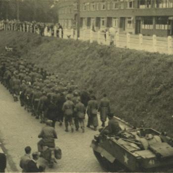 Duitse krijgsgevangenen verlaten Rotterdam, Bren Carrier
