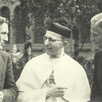 Klooster St. Oedenrode, twee heren, geestelijke