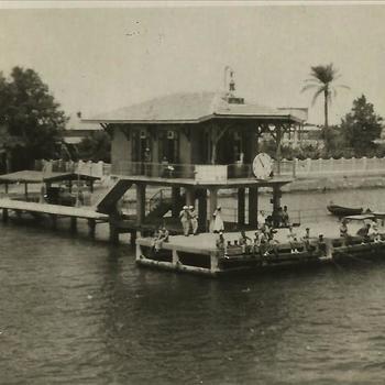Ned. Indië, Tijgerbataljon: Juni 1949; Suez kanaal - politiepost