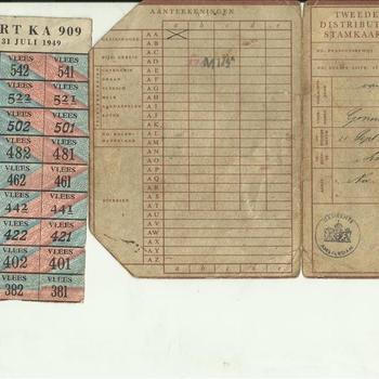 Tweede Distributiestamkaart van G.j van Duivenbode