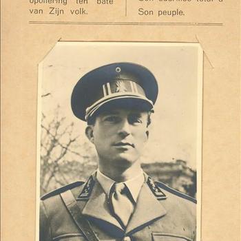 Antwerpen, 1940, Wij Belgen danken den Koning voor Zijn algeheele opoffering ten bate van Zijn volk
