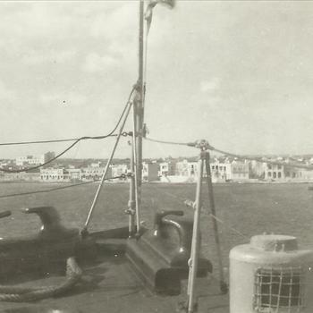 Koninklijke Marine, schip, voorschip, haven, tros