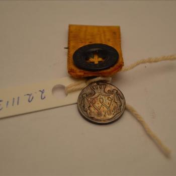 Medaille voor Langdurige Trouwe Dienst in zilver, uitvoering in miniatuur