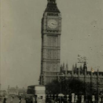 Ned. Indië, Tijgerbataljon: Londen, Big Ben