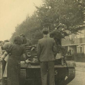 Nederlands Bevrijding; Bren Carrier in Arnhem