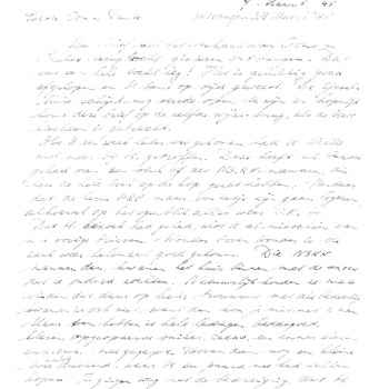 Brief voor W. Brackman te Haarlem