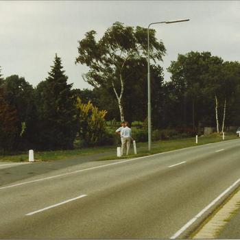 Air Despatch Memorial Monument, Oosterbeek, man