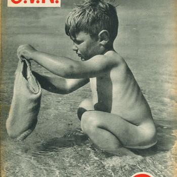 O.V.N.  Ons Vrije Nederland, 30 juli 1949 , 9e jaargang nummer 5