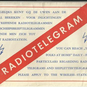 """Nederlandsche Telegraaf Maatschappij """"Radio Holland"""""""