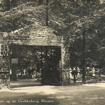 Toegangspoort, Grebbeberg, runetekens SS