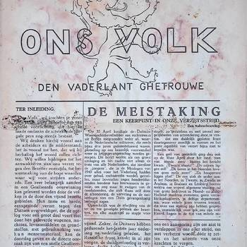 Ons Volk, 7 oktober 1943, no 1