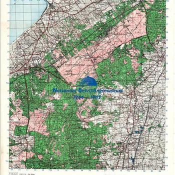Stafkaart Brits, 1:50.000, sheet 27 West, Nunspeet, 21 A GP No.45