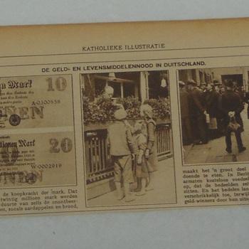 Knipsel uit katholieke Illustratie 22 augustus 1923