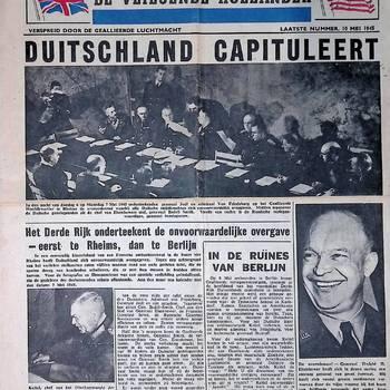 De Vliegende Hollander, Laatste nummer, 10 mei 1945