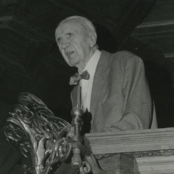 dominee Van Selms, opening St. Stevenskerk
